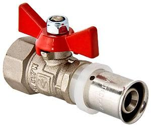 Кран шаровой VALTEC с пресс-соединением - (VT.242.N)