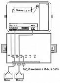 Danfoss Адаптер Pulse/M-bus, 2 входа 014U1623