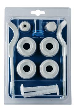 Наборы для подключения радиатора с кронштейнами