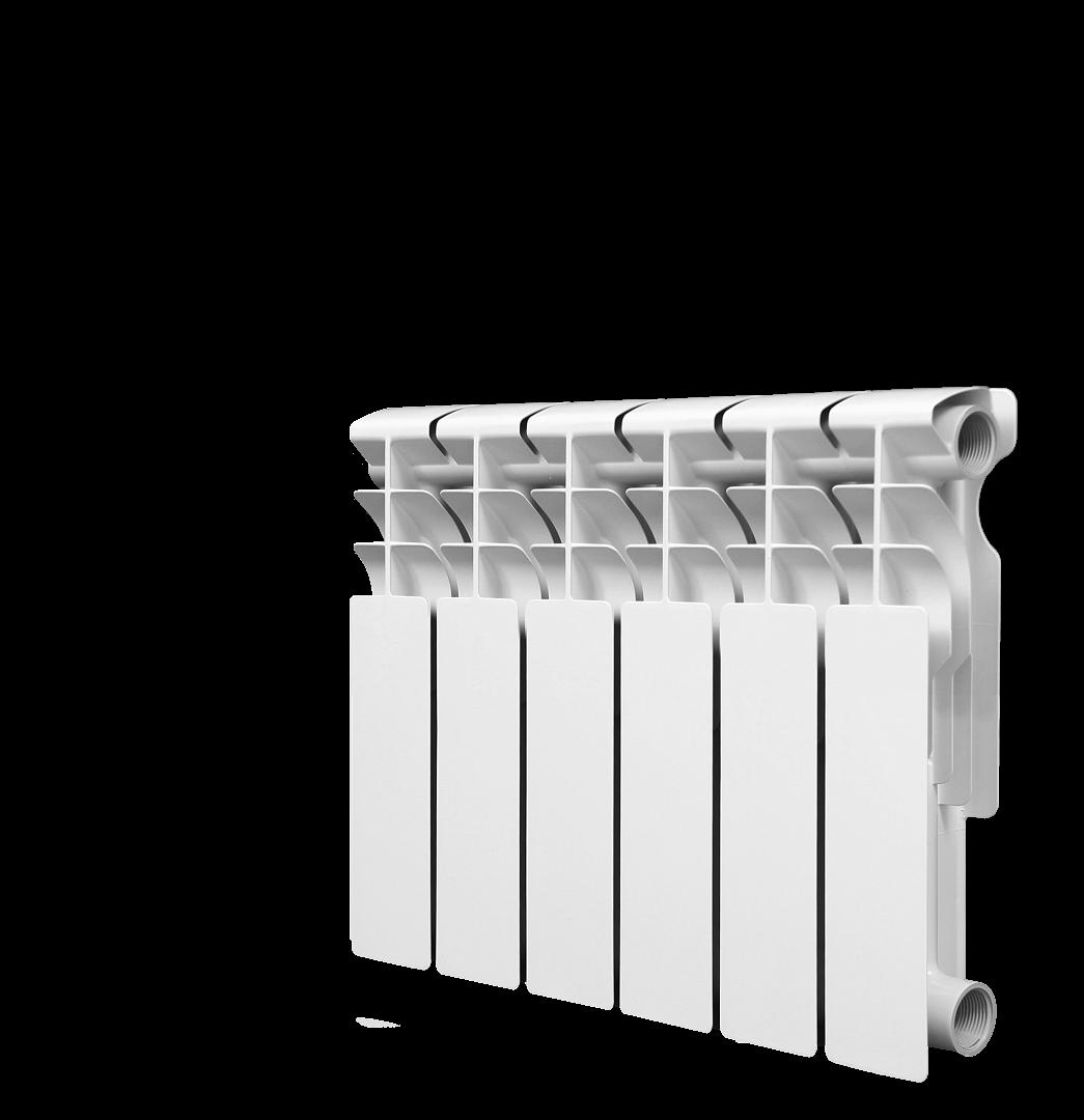 Радиатор алюминиевый Lammin 350/80/10