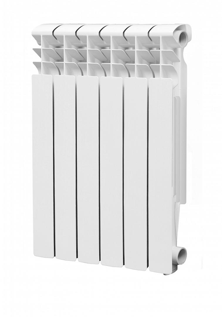 Радиатор  алюминиевый Lammin  500/80/6