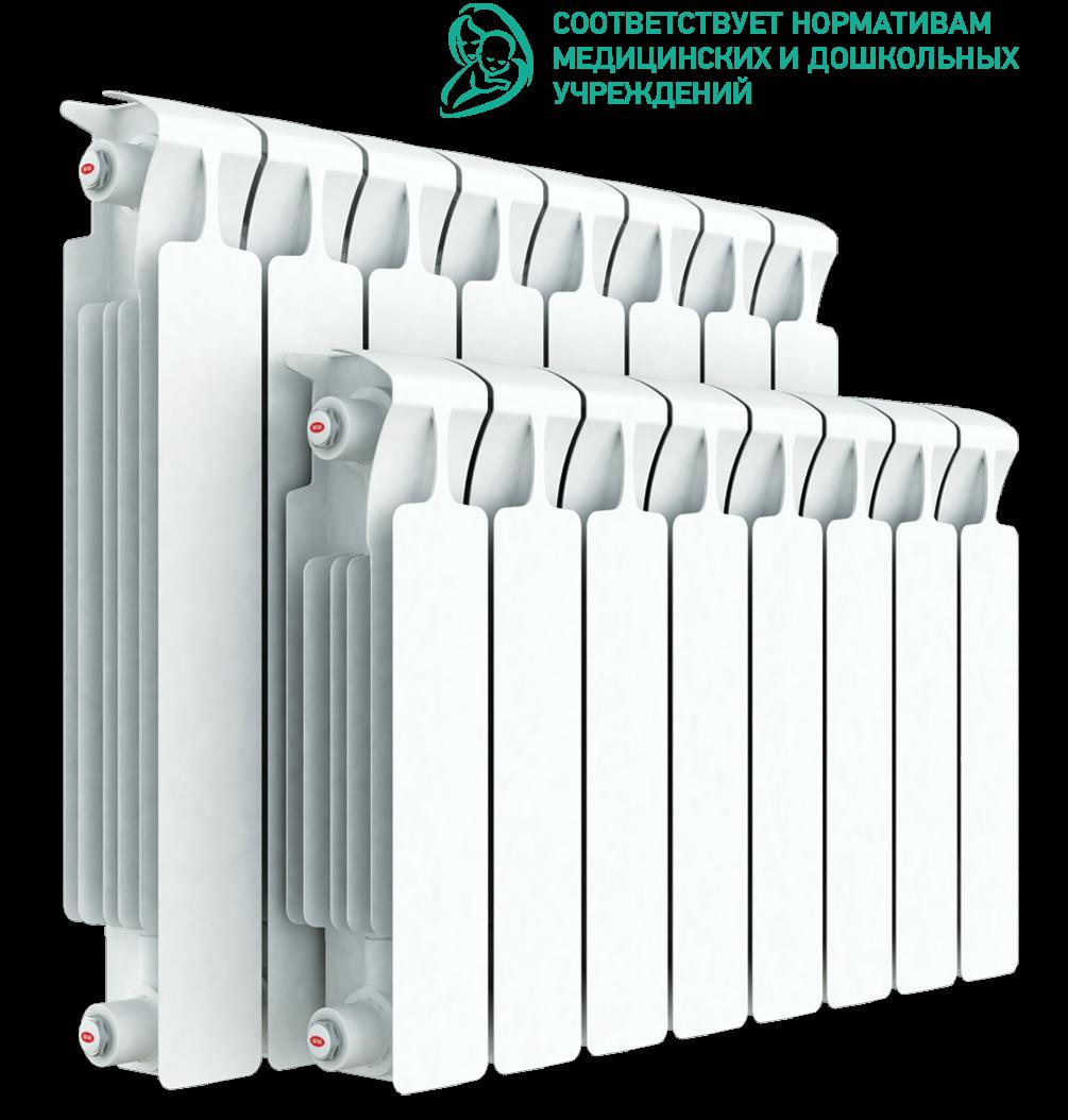 Радиатор биметаллический Rifar MONOLIT 350/4