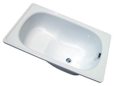 Ванна стальная, эмалированная с сидением