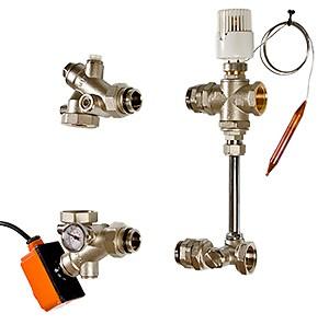 Насосно-смесительный узел для теплого пола VALTEC DUALMIX - (VT.DUAL.0)