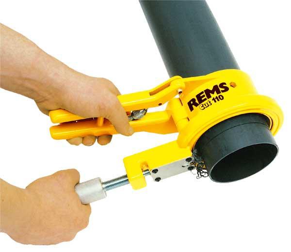 Инструмент для резки тонкостенных труб с одновременным снятием фаски - REMS CUT 110 П