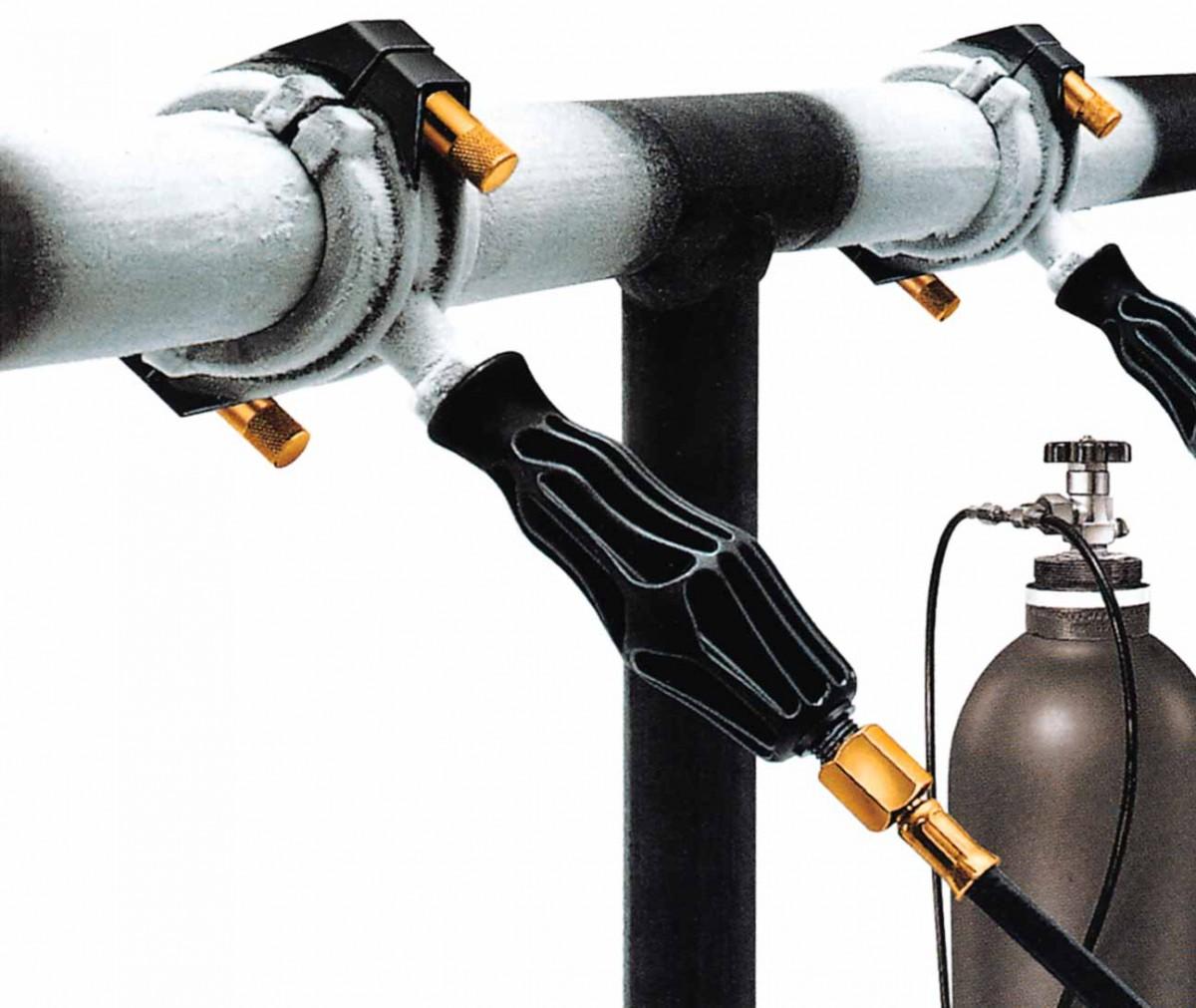 Приспособление для заморозки труб - Эскимо