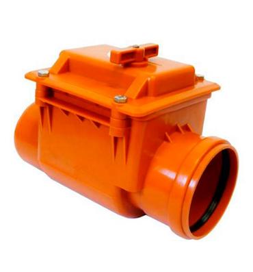 Обратный клапан полипропилен DN 110 Ostendorf арт. 908002