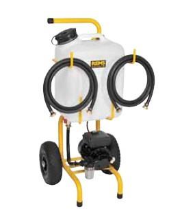 Электрическая установка для промывки теплообменников Солар Пуш I и Солар Пуш К
