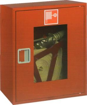 ШПК-310 навесной открытый красный для пожарного крана (с окном)