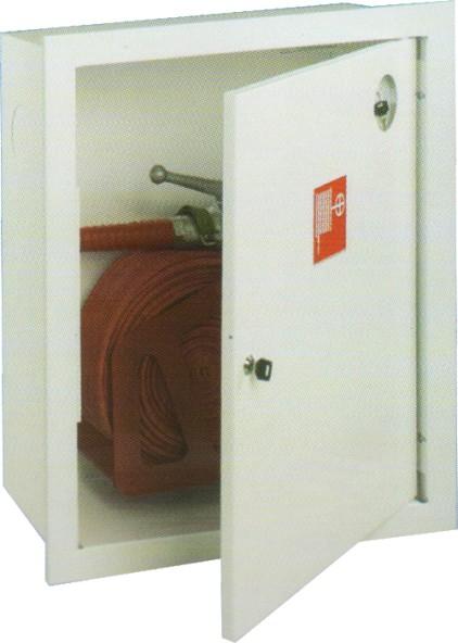 ШПЛ - 310 встроенный закрытый белый для пожарного крана (без окна)