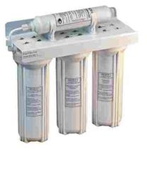 Системы водоочистные картриджные Kristal WP-3 (4 ступени очистки)