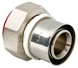 Пресс-фитинг с накидной гайкой  (VTm.222.N)