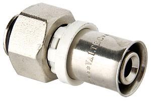 Пресс-фитинг с накидной гайкой (VTc.712.N)